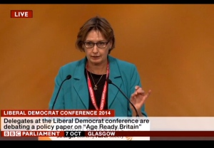 Age Ready Britain - Speech 7th October 2014