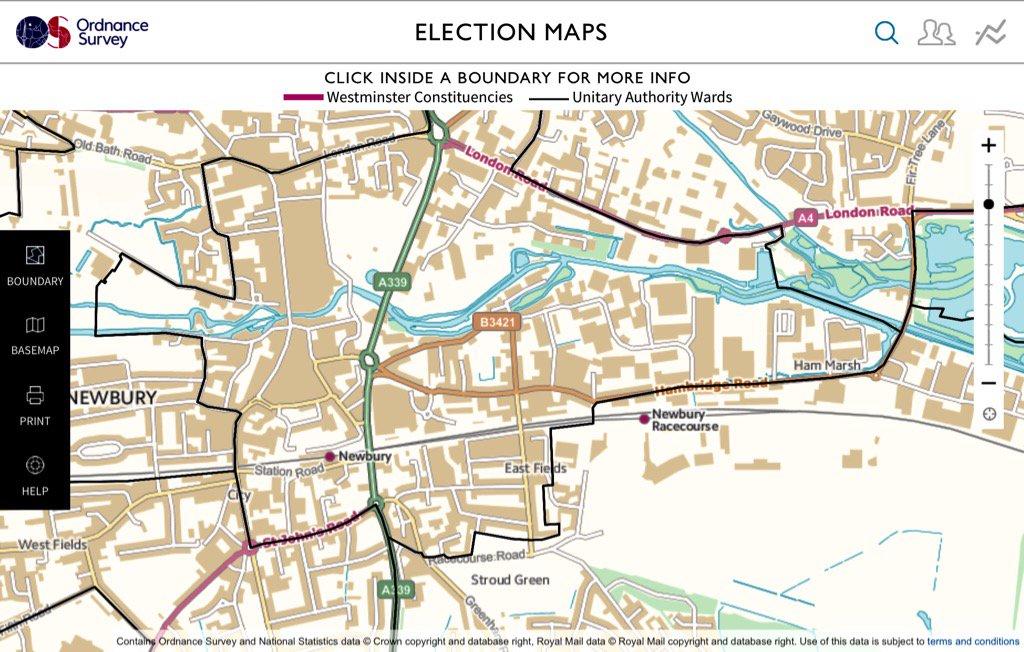 Victoria Ward map